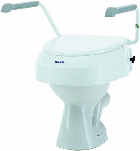 Rialzo bagno invacare aquatec 900 con braccioli amovibili prodotti plus - Rialzo per bagno ...