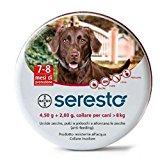 1 Collare Seresto di Bayer per cani oltre 8 Kg antipulci e zecche 70 cm: Amazon.it: Prodotti per animali domestici