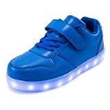 AFFINEST Led Con Luci Sneakers Bright Light USB 7 Colori Bambino Scarpe Lampeggiante bambini ragazzi ragazze regalo Natale Capod