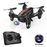 DROCON Drone Mini Pocket GD60 Telecamera di telecomando dell'elicottero HD Anti-vibrazione 720P Fashion Headless FLIPS E RUOLI 3