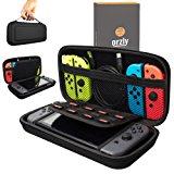 Custodia da viaggio Orzly compatibile con il Nintendo Switch - Guscio protettivo portatile per Console e Accessori del Nintendo