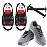 Homar No Tie Lacci per scarpe per bambini e adulti - Impermeabile in silicone elastico piatto Laces Athletic scarpa da corsa con