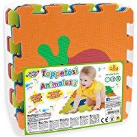 Teorema 72475 - Tappeto Puzzle con Animali, colori assortiti, 9 pezzi: Amazon.it: Giochi e giocattoli