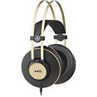 AKG K92 - Cuffia Chiusa, Colore: Nero opaco-Oro: Amazon.it: Strumenti musicali e DJ