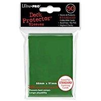 Ultra Pro 82671 - Bustine per carte da gioco, 50 pz., colore: verde