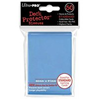 Ultra Pro 0 Deck Protector Sleeves: 50, Light Blue [importato dalla Germania]