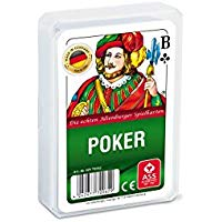 ASS Altenburger Spielkarten 70062 - Carte da poker con custodia in plastica [importato dalla Germania]