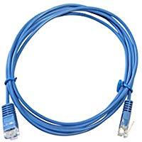 Lien'K C4545ub 1-003-Cavo di rete Ethernet RJ45, lunghezza 0,3 m, colore: blu