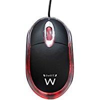 Ewent EW3174 Mini Mouse Ottico, 1000dpi, Cavo da 1,15 m
