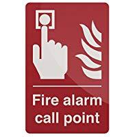 Silverline Cartello Allarme antincendio, rigido, 846757