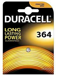 Duracell 364 Argento-Ossido 1.5V batteria non-ricaricabile
