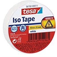 Tesa 56192-00011-02 Nastro Isolante Universale, Bianco