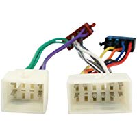 HQ ISO-PEUGEOT - cable interface-gender adapters (2x Radio, 2x Car, Multicolour)