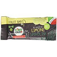 Cibocrudo Barretta Limone e Spirulina -  35 gr