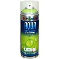 Dupli Color 246302 Acqua Vernice Spray, 350 ml, Verde Primavera Lucido