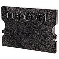 Reprofil 978072 21 mm pezzi p-au-02 - 15 tappi, nero