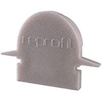 Reprofil 979621 23 mm pezzi r-et-01 - 08 tappi, grigio