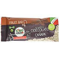 Cibocrudo Barretta Cioccolato e Canapa -  35 gr