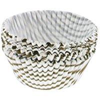 Norpro Muffin Swirl Tazze, Confezione da 75, Oro