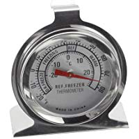 Judge frigorifero-congelatore Termometro, Argento