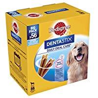 Pedigree Dentastix Snack per la Igiene Orale (Cane Grande 25 kg+) 2160 g 56 Pezzi - 1 Confezione da  56 Pezzi