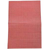 Kesper-Tovaglietta segnaposto 77546: 43 x 29 x 0,1 cm, colore: rosso