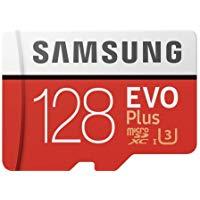 Samsung MB-MC128GA-EU EVO Plus Scheda MicroSD da 128 GB, UHS-I, Classe U3, fino a 100 MB-s di Lettura, 90 MB-s di Scrittura, Ada