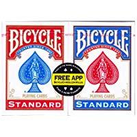 The United States Playing Card Company Bicycle Mazzo Standard Confezione Doppia, CAR2867: Bicycle: Amazon.it: Giochi e giocattol