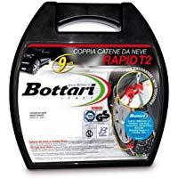 """Bottari 18817 """"Rapid T2"""", Catene neve auto 9 mm, Misura 070, Omologate TUV e GS Onorm: Amazon.it: Auto e Moto"""