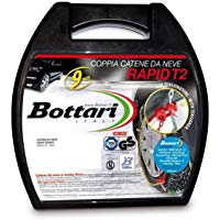 "Bottari 18818 ""Rapid T2"", Catene neve auto 9 mm, Misura 080, Omologate TUV e GS Onorm: Amazon.it: Auto e Moto"