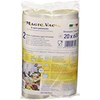 Flaem Nuova ACO1066 Magic Vac, Rotoli per Alimenti, 2 pezzi da 20x600 cm, Trasparente: Amazon.it: Casa e cucina