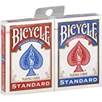 2 nuovi mazzi di carte e sigillato in bicicletta gioco - 1 rosso e 1 blu 2 New & Sealed Decks of Bicycle Playing Cards - 1 Red &