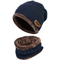 VBIGER Cappello Uomo invernale Berretto Uomo in Maglia con sciarpa: Amazon.it: Abbigliamento
