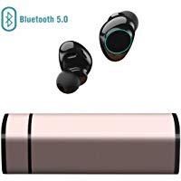 Auricolari Bluetooth 5.0, Cuffie Bluetooth Muzili TWS Leggeri Hi-Fi Cuffie Cancellazione Rumore,Auricolari Sport IP65, Earbuds c