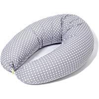 Cuscino Allattamento e Cuscino Gravidanza per Dormire XXL|Federa 100% Cotone,Sfoderabile e Lavabile|Imbot.in Fiocchi di Fibre pe
