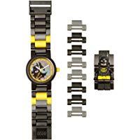 LEGO Batman Movie 8020837 Orologio da polso componibile per bambini con minifigure Batman: LEGO: Amazon.it: Orologi