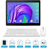 Tablet 10.1 pollici sbloccato, Tablet PC Android 7.0 con slot per scheda SIM doppio, 3G, GSM, Quad Core, memoria RAM da 2 GB + 3