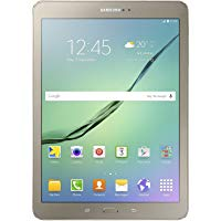 "Samsung SM-T819NZDEITV Galaxy Tab S2 Tablet, Display da 9.7"", Processore da 1.8 GHz, RAM 3 GB, HDD 32 GB, Oro [Versione Italiana"
