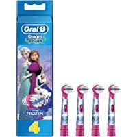 Oral-B Stages Power 4 Testine di Ricambio per Spazzolino Elettrico con i Personaggi di Frozen: Amazon.it: Salute e cura della pe