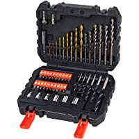 BLACK+DECKER A7188-XJ Set per Forare ed Avvitare, 50 Pezzi: Amazon.it: Fai da te