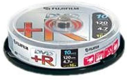 Fujifilm DVD+R da 4.7 GB, Confezione da 10 Pezzi