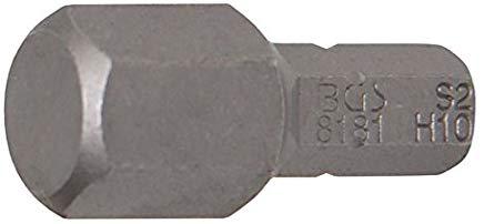 BGS Bit esagonale, 10 mm, 1-4 pollici, 1 pezzi, 8181