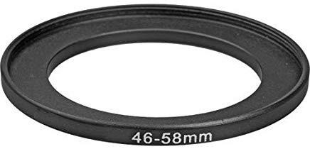 Fotodiox Adattatore ad anello per filtro, metallo Anodizzato Nero 46 millimetri-58mm, 46-58 mm [Camera]