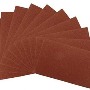 Silverline 372349 Aluminium Oxide Hand Sheets, Set of 10, 180 Grit