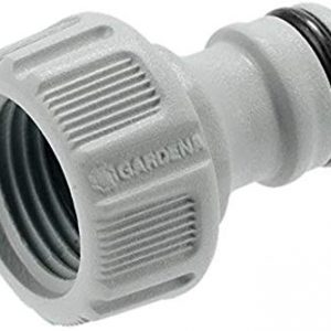 Gardena 18200-50 Faucet connector Nero, Grigio raccordo per rubinetteria