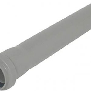 Bampi TEM321000 htem Diametro 32mm, mm 1000 Tubo 1 Bicchiere, Bianco-Grigio-Nero