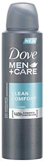 Dove Men Care Deodorante Clean Comfort Spray, 150 ml