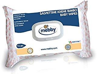 Mebby 92361 Salviettine Igiene, 72 Pezzi