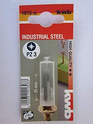 KWB punte Standard, Pozidriv DIN 8764, 1013 - 03
