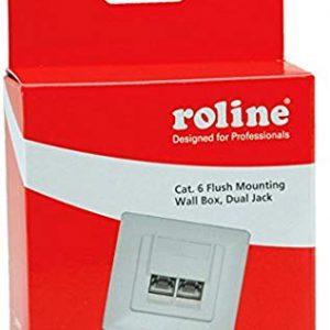 Secomp Roline Prese telefoniche Cat6 2 uscite